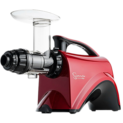 Omega Sana 606 Juicer in Red