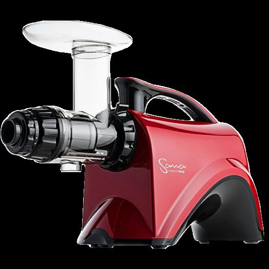 Omega Sana 606 Juicer in Red