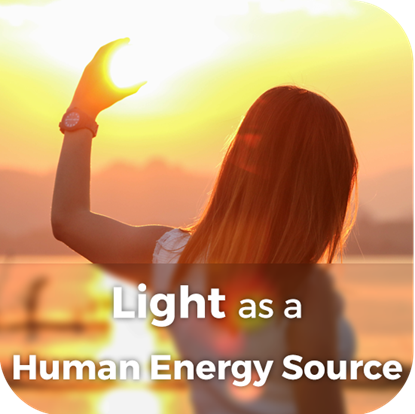 Light as a Human Energy Source