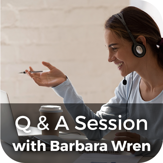 Q & A Session with Barbara Wren