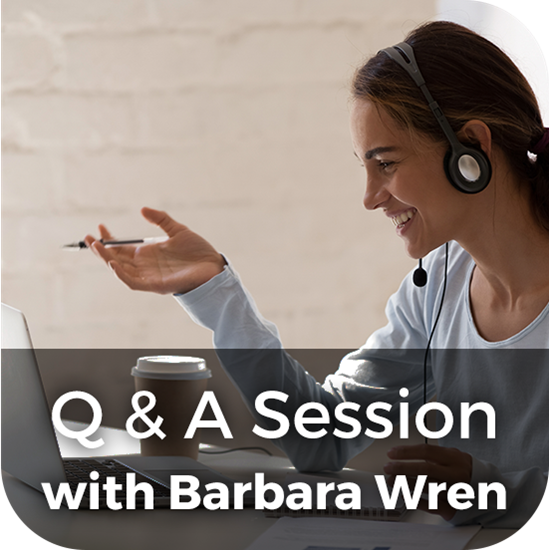 Picture of Q & A Session with Barbara Wren