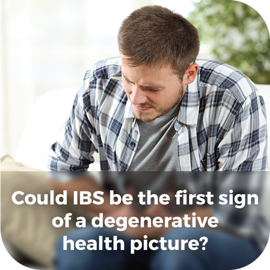 Could IBS be the first sign of a degenerative health picture